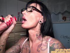 Große Titten Tattoo Pov Blowjob