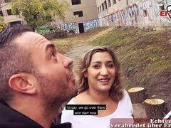 Deutsch Türkin Danka Diamond beim Date gefickt
