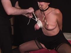 Brüste abbinden bondage Bondage